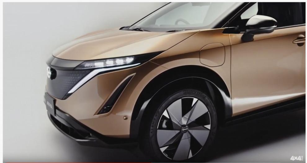 Абсолютно новый электрокроссовер Nissan Ariya. Мир уже не будет прежним.