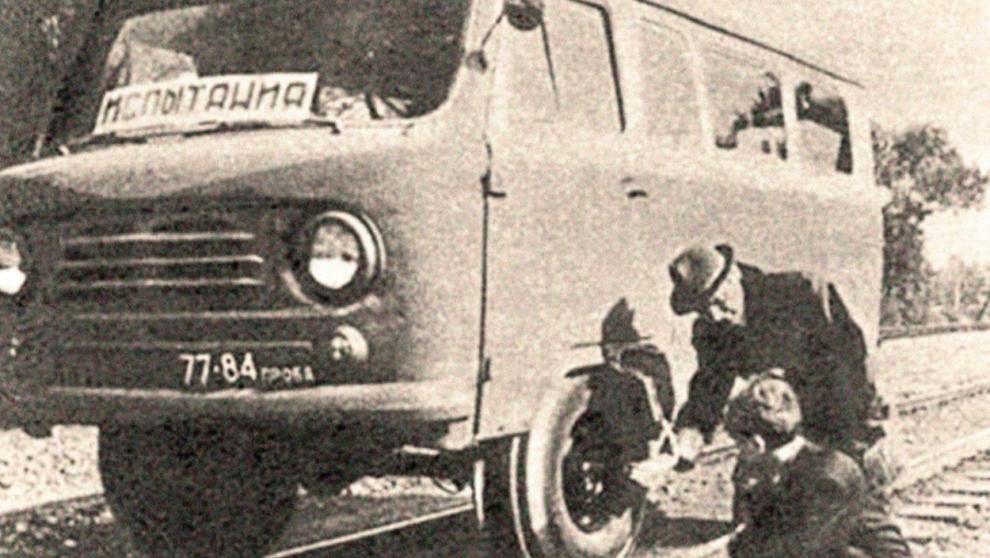 """Взгляните на """"Буханку-дрезину"""" из 1960-х годов"""