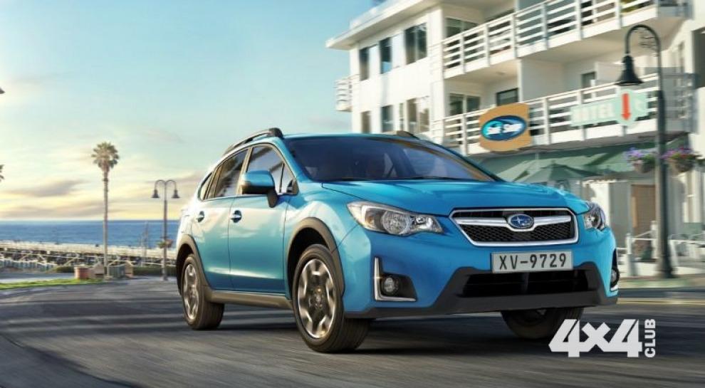 Обновлённый Subaru XV