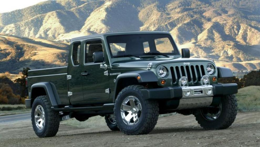 Jeep Wrangler снова станет пикапом