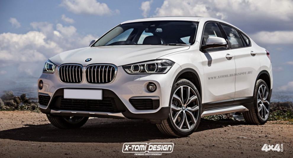 BMW X2 глазами X-Tomi Design