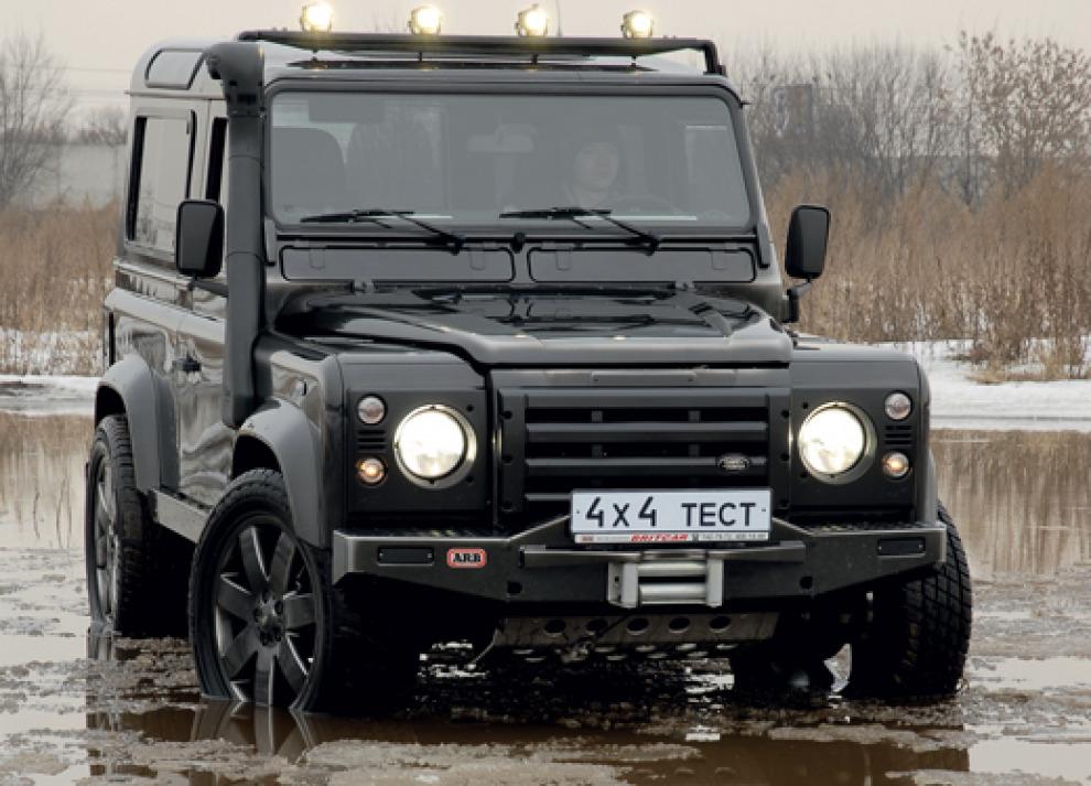 Можно ли сделать Land Rover Defender гламурным?