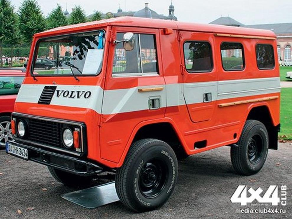Музей утраченных видов. История внедорожников Volvo