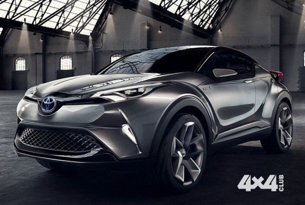 Toyota представит конкурента Nissan Juke весной