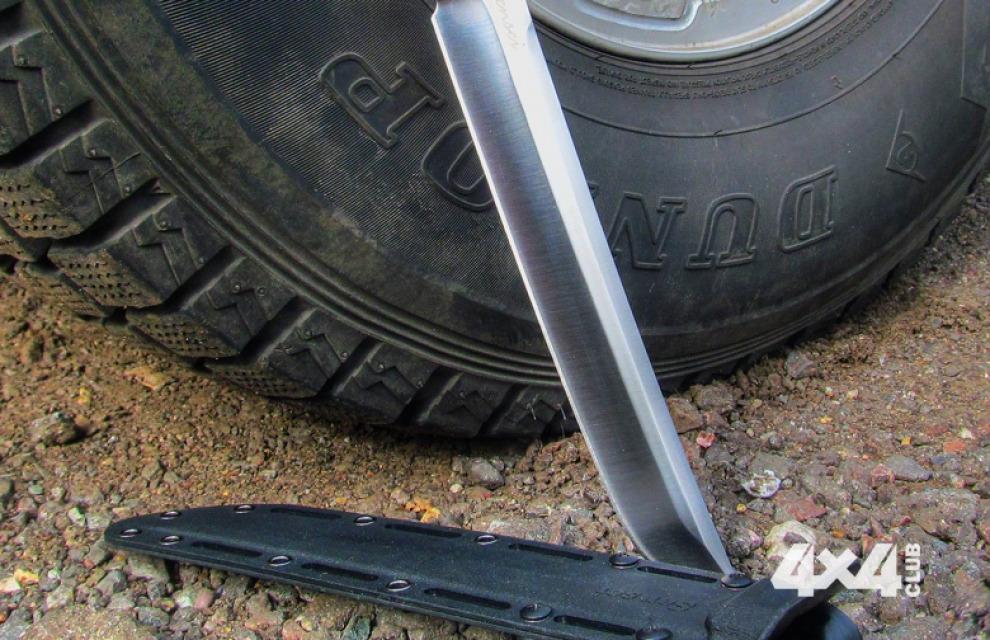 Нож для внедорожника, или зачем вообще нож в автомобиле?