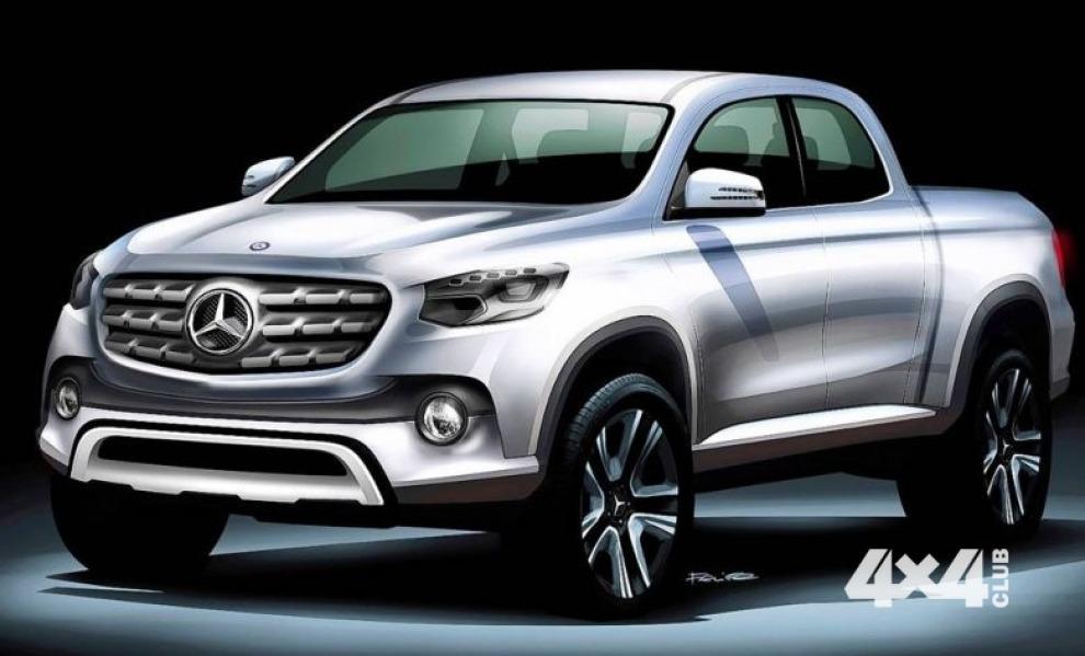 Mercedes покажет свой пикап уже в этом году