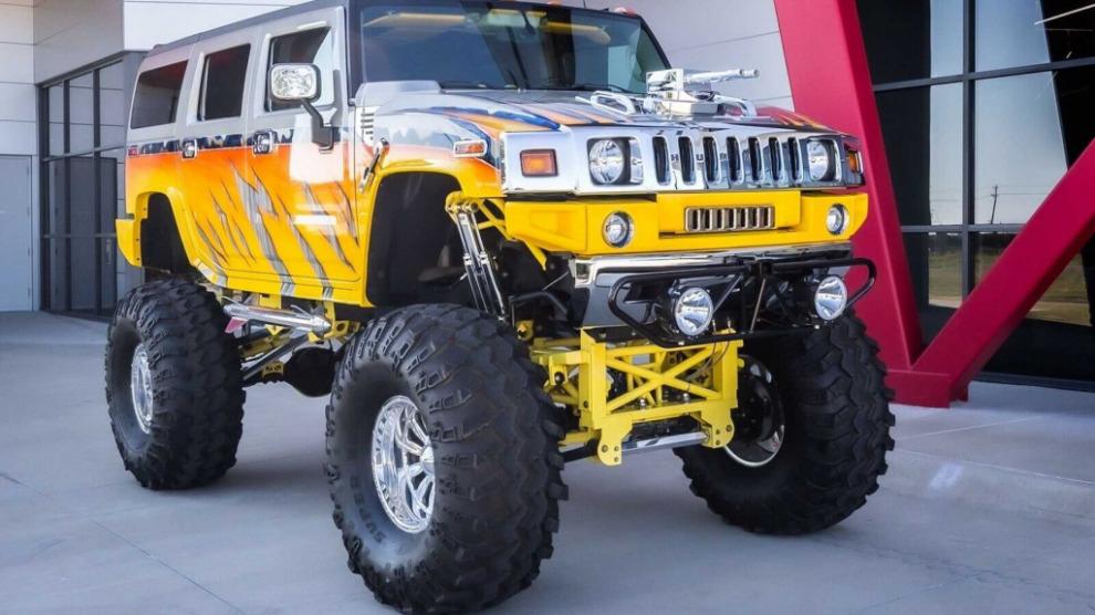 Этот чокнутый Hummer H2 продается на eBay