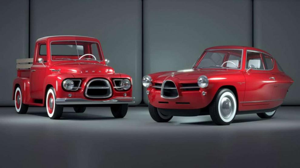 Эстонцы запустят в производство электрические пикапы, стилизованные под Chevrolet Pickup и Ford F-Series 1950-х годов