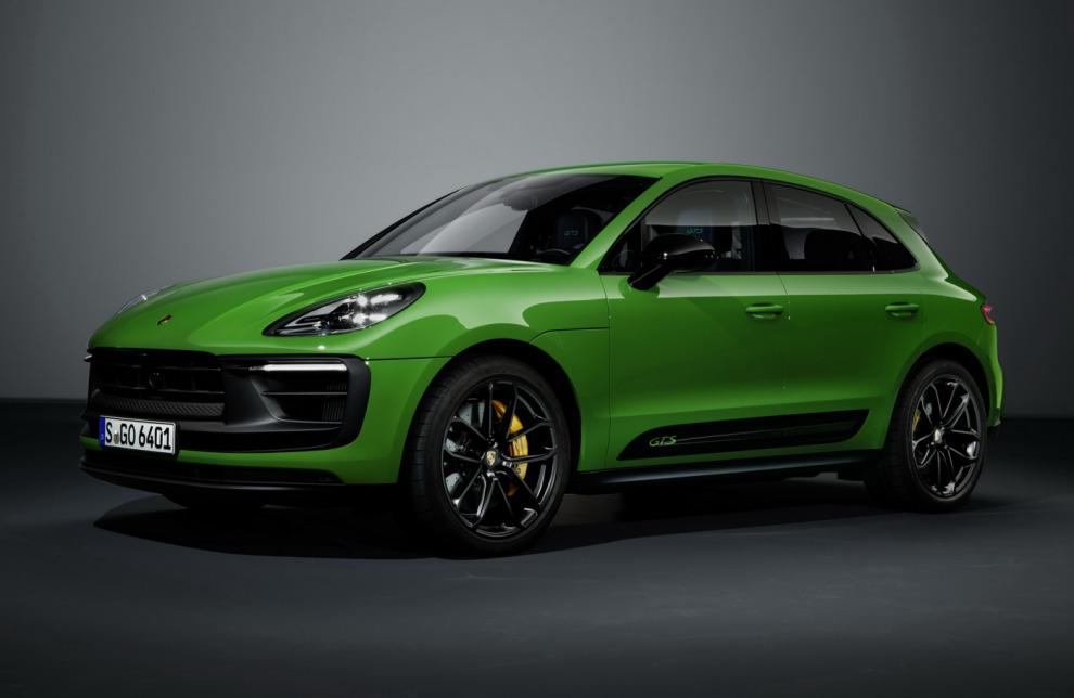 Обновлённый Porsche Macan стал мощнее