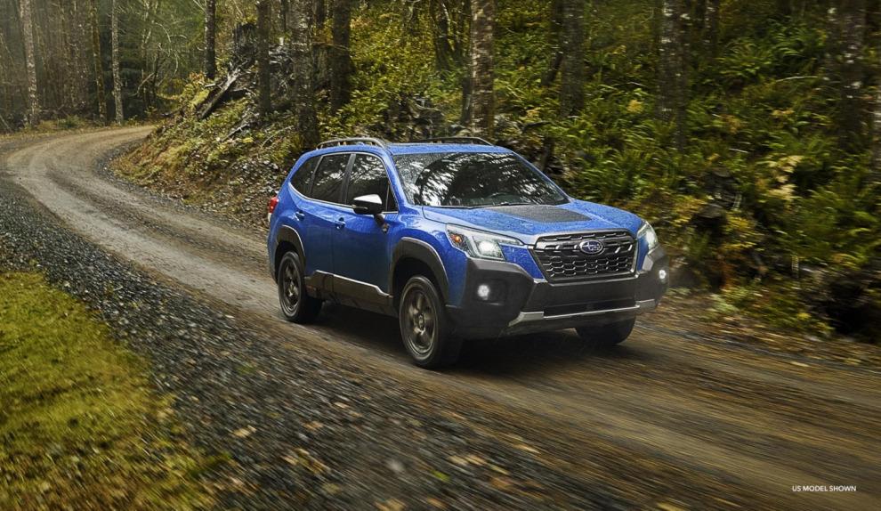 Новая экстремальная версия Subaru Forester раскрыта до официальной отмашки