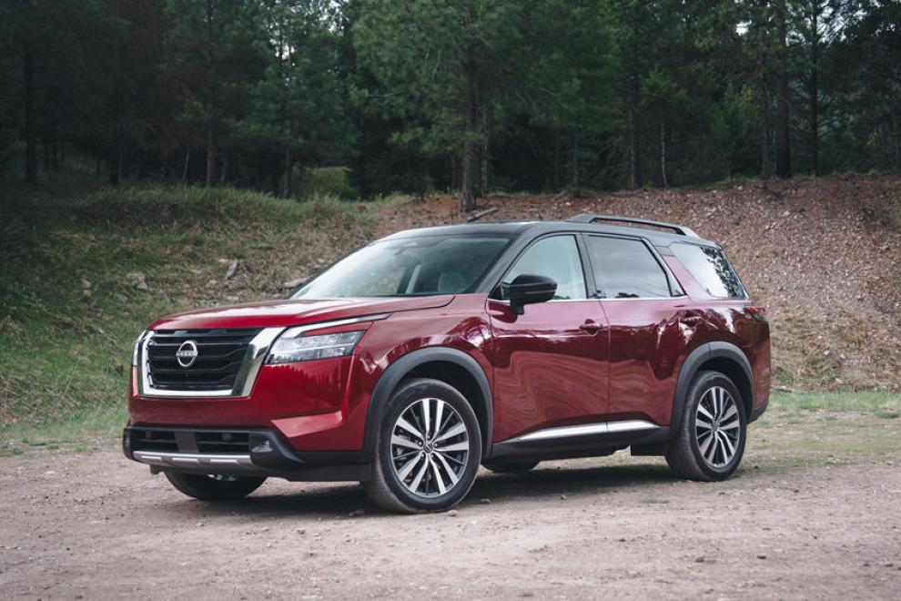 На первый взгляд. Nissan Pathfinder 2022
