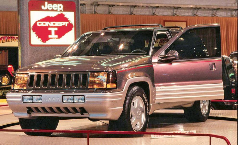 Король скорости. История появления Jeep Grand Cherokee