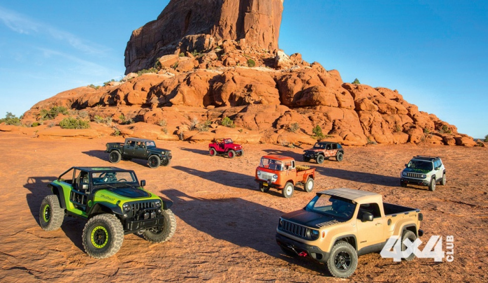 50 лет известного Moab Easter Jeep Safari совпало с 75-летием марки Jeep