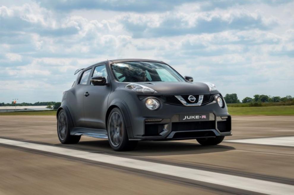 Nissan Juke R теперь выдает 600 л.с.