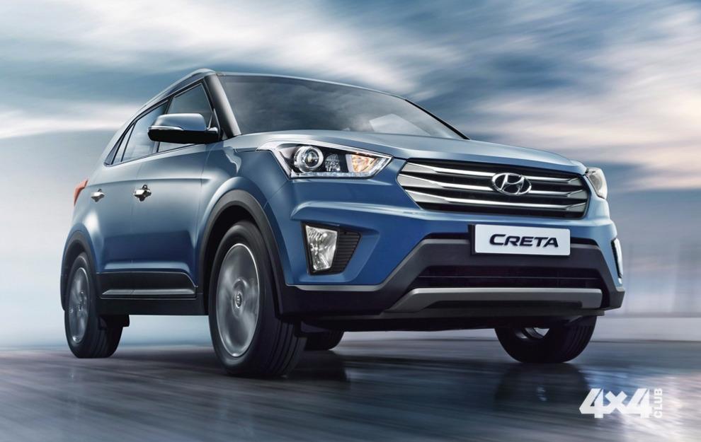 Hyundai представит Creta на автосалоне в Москве