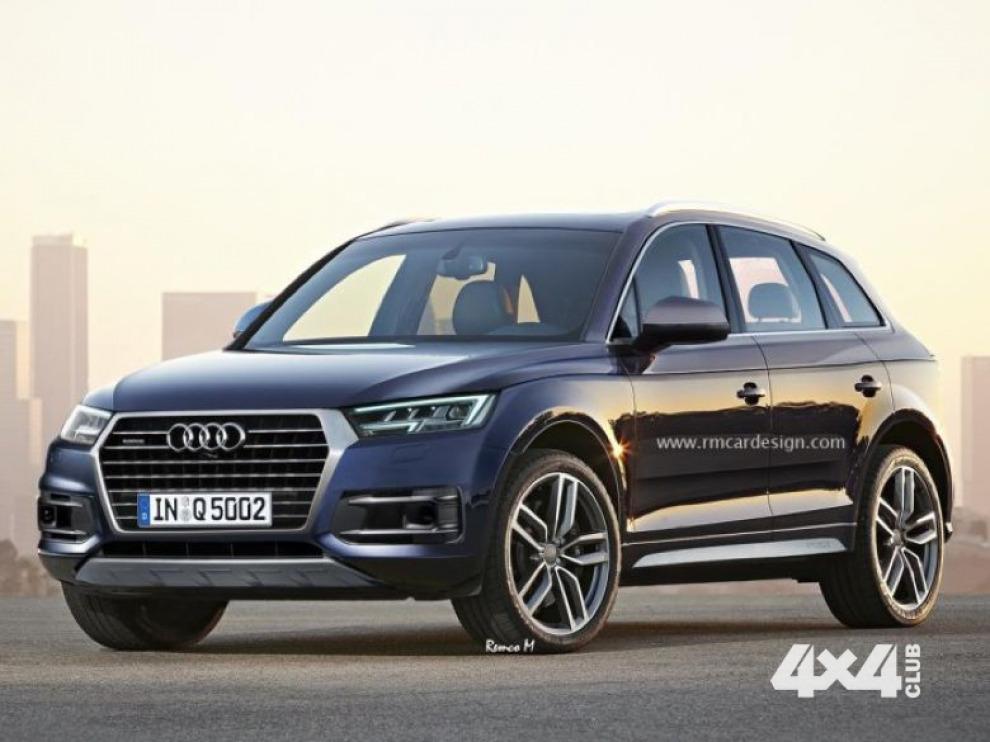 Так может выглядеть новый Audi Q5