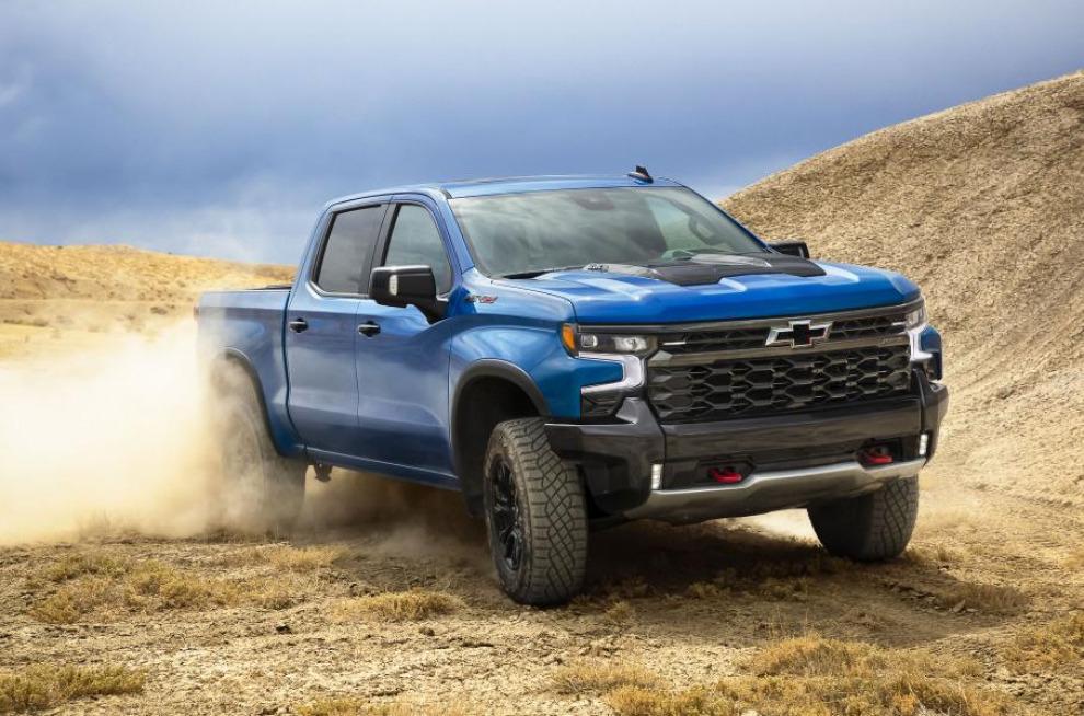 С Chevrolet Silverado теперь можно не бояться бездорожья