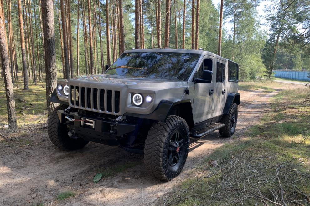 Из «Газели» и «Соболя» сделали замену внедорожника УАЗ 469
