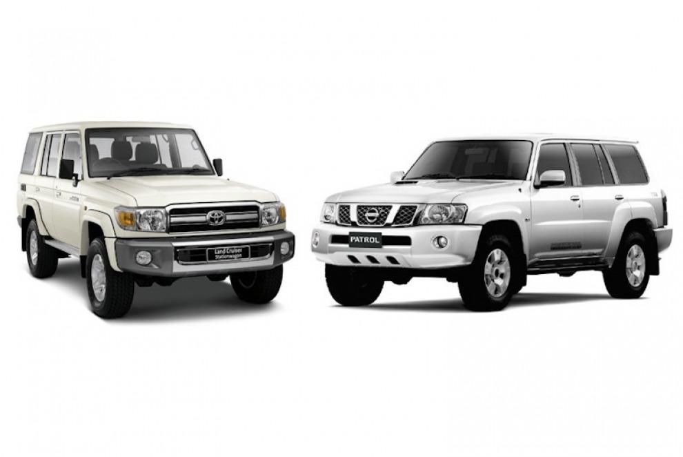 Внедорожники Nissan Patrol Y61 и Toyota Land Cruiser 70 уходят в историю