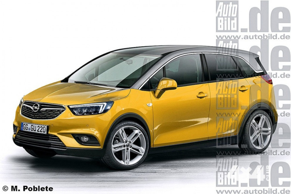 Opel Meriva станет кроссовером