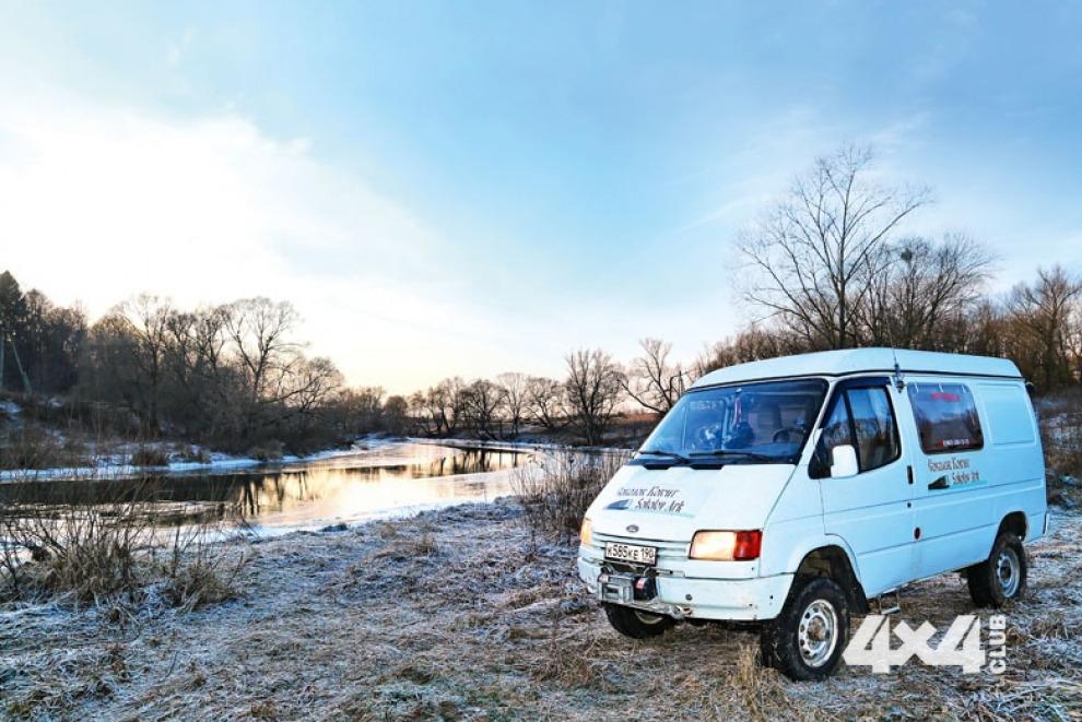 Автодом-вездеход из обычного Ford Transit