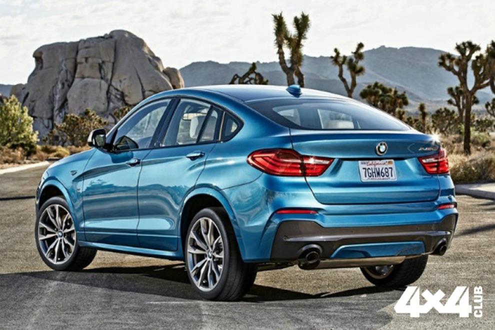 Названа рублевая стоимость «заряженной» версии BMW X4