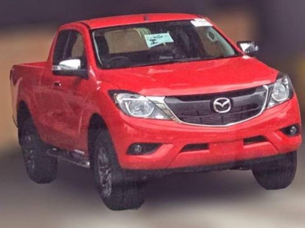 Пикап Mazda BT-50  обновился