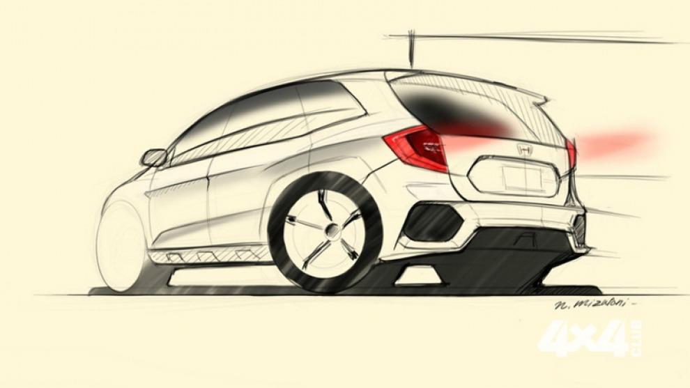 Появилось первое изображение Honda CR-V нового поколения