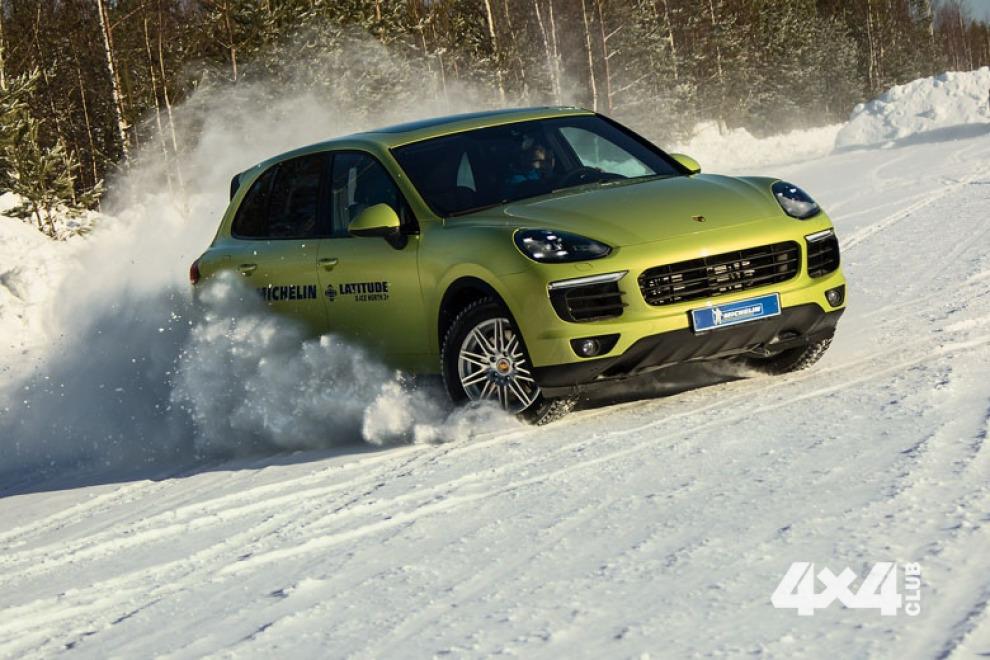 Знакомимся с новой шиной Michelin Latitude  X-Ice North 2+
