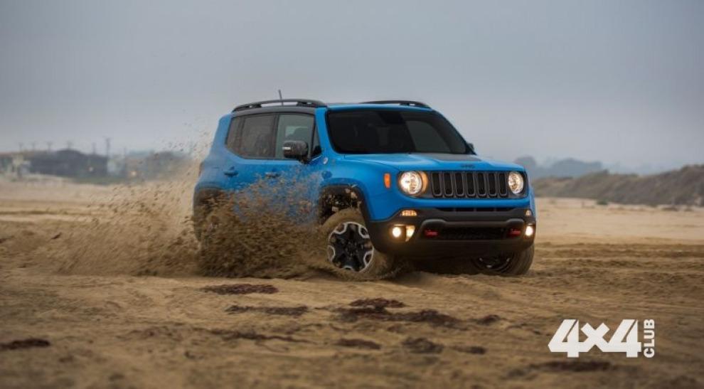 В России начались продажи Jeep Renegade