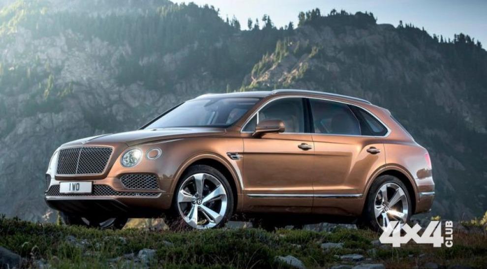 Десятая часть всех Bentley Bentayga отправится в Россию