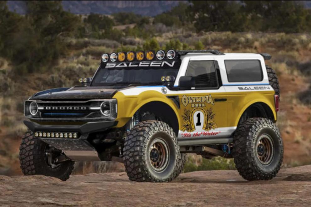 """Ford Bronco от Saleen. Образ вдохновлённый """"Большим Оли"""""""