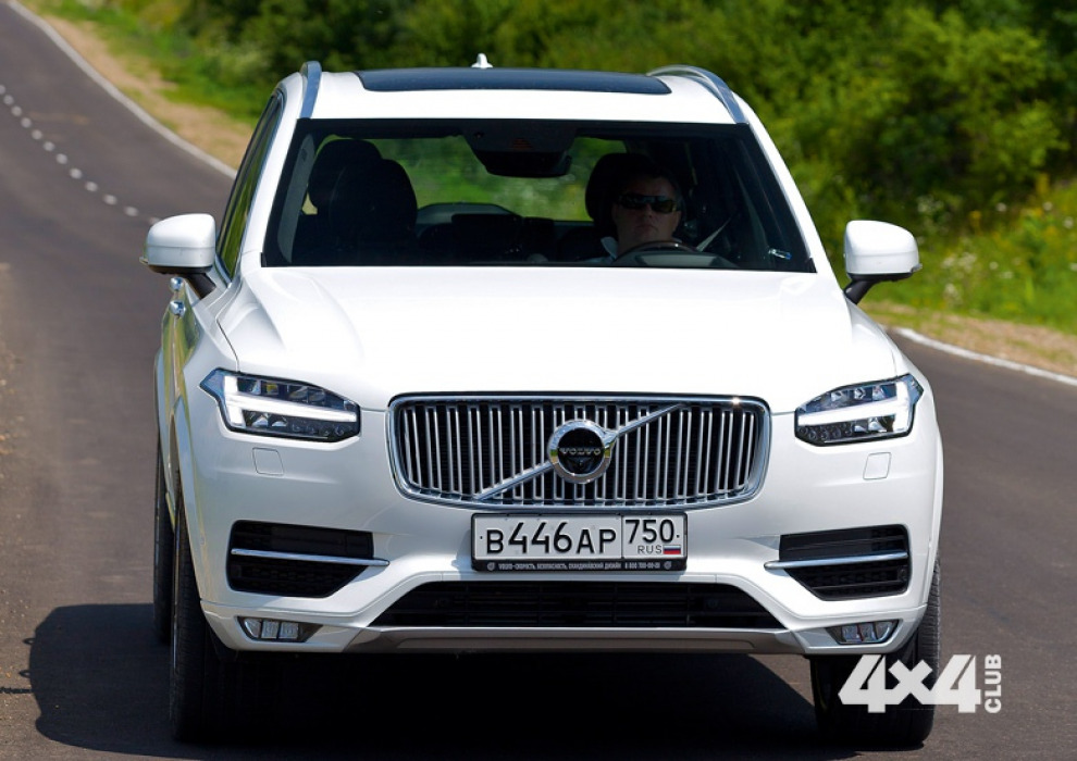 За рулем нового Volvo XC90 по просторам жаркого российского Юга