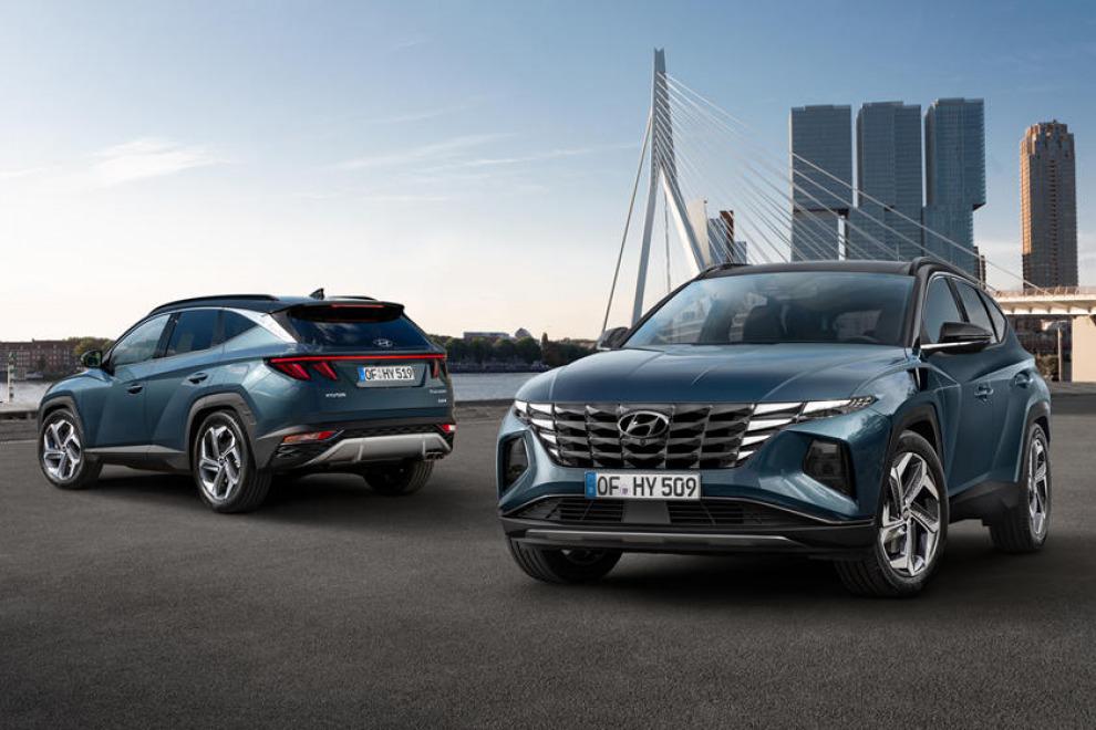 Новый Hyundai Tucson поражает необычной внешностью