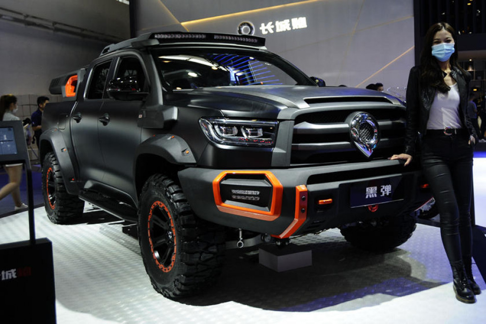 Great Wall представил свой ответ RAM 1500 TRX