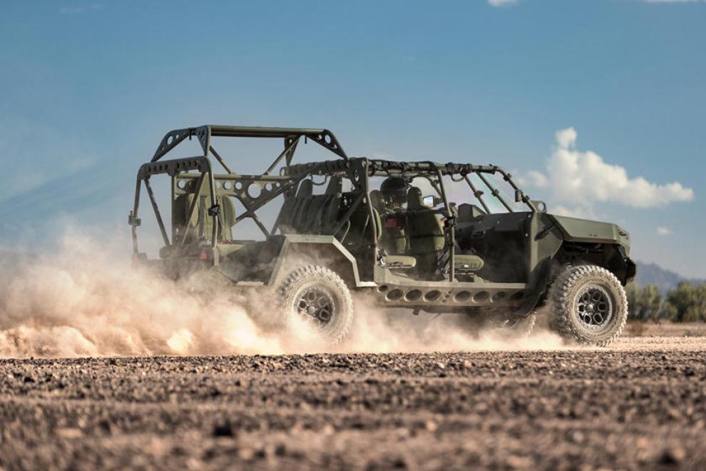 В американской армии появился «милитари трак» на базе пикапа Chevrolet Colorado ZR2