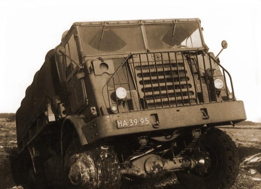 DAF: дело братьев ван Доорн в аспекте армейской техники