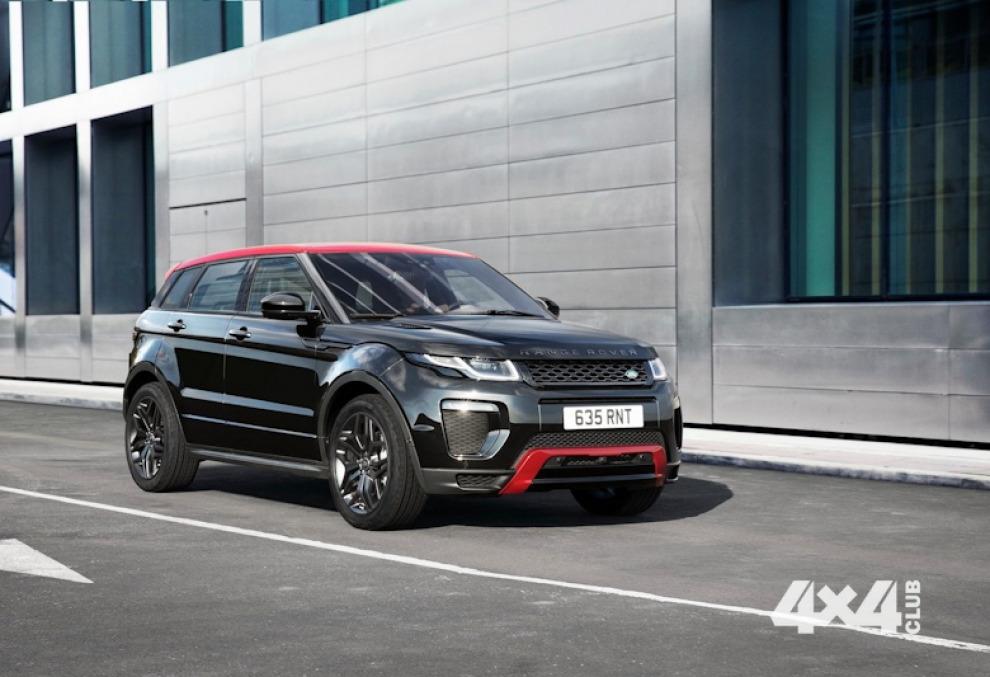 Не очень новый Range Rover Evoque '2017 года