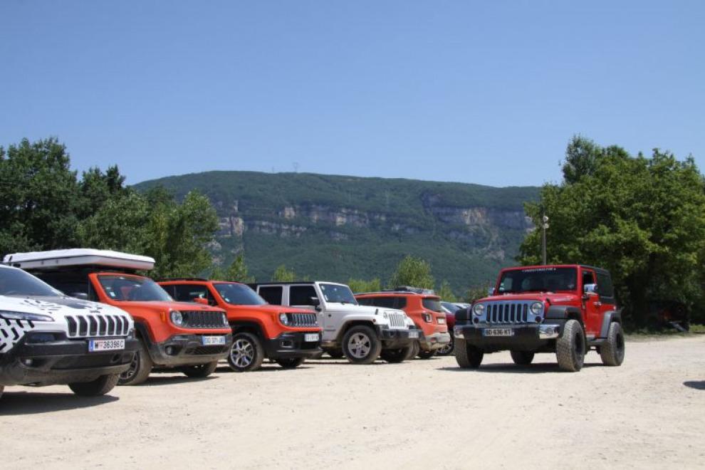 Новости с Camp Jeep 2015 FRA