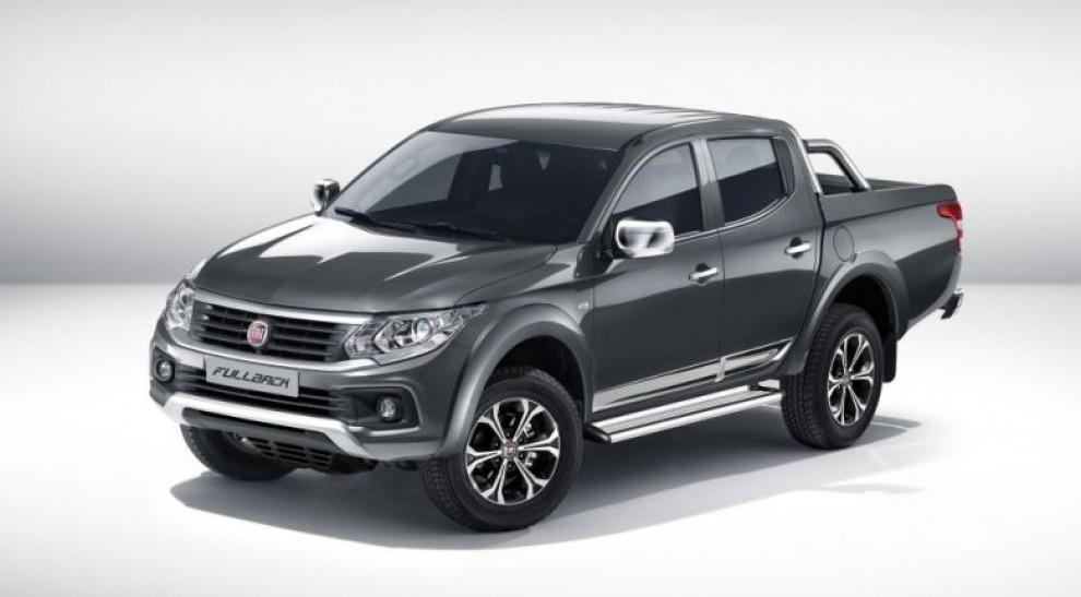 Fiat представил свою версию Mitsubishi L200