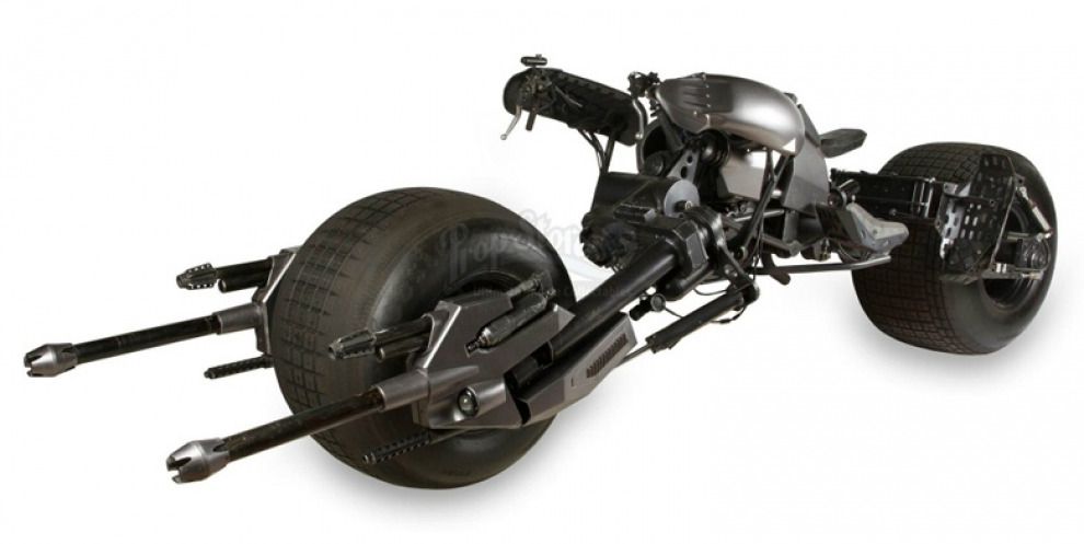 На аукционе продадут мотоцикл Бэтмена из фильма «Темный рыцарь»