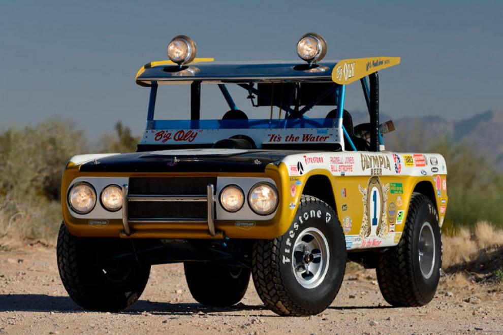 Легендарный Ford Bronco Big Oly продали за безумные деньги