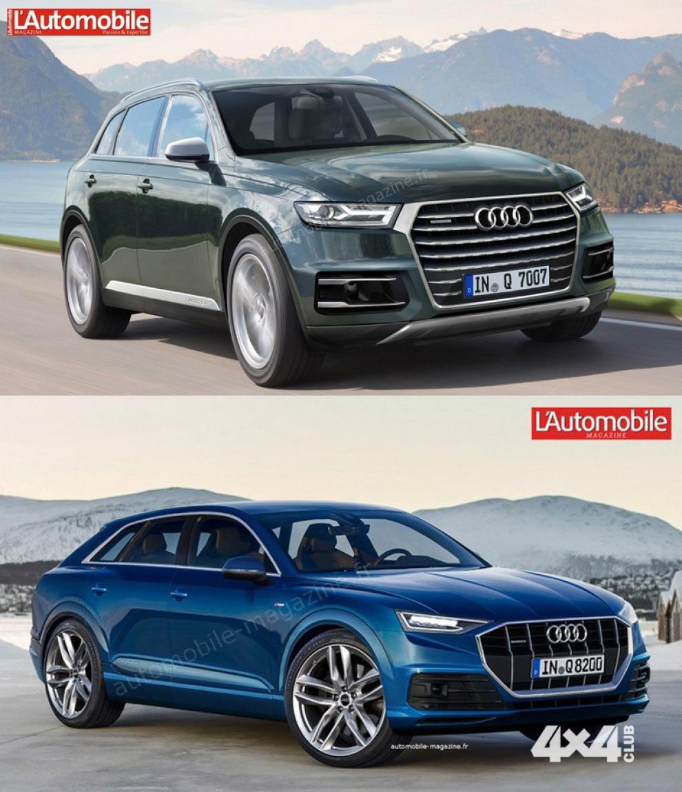 Audi Q8: первая информация