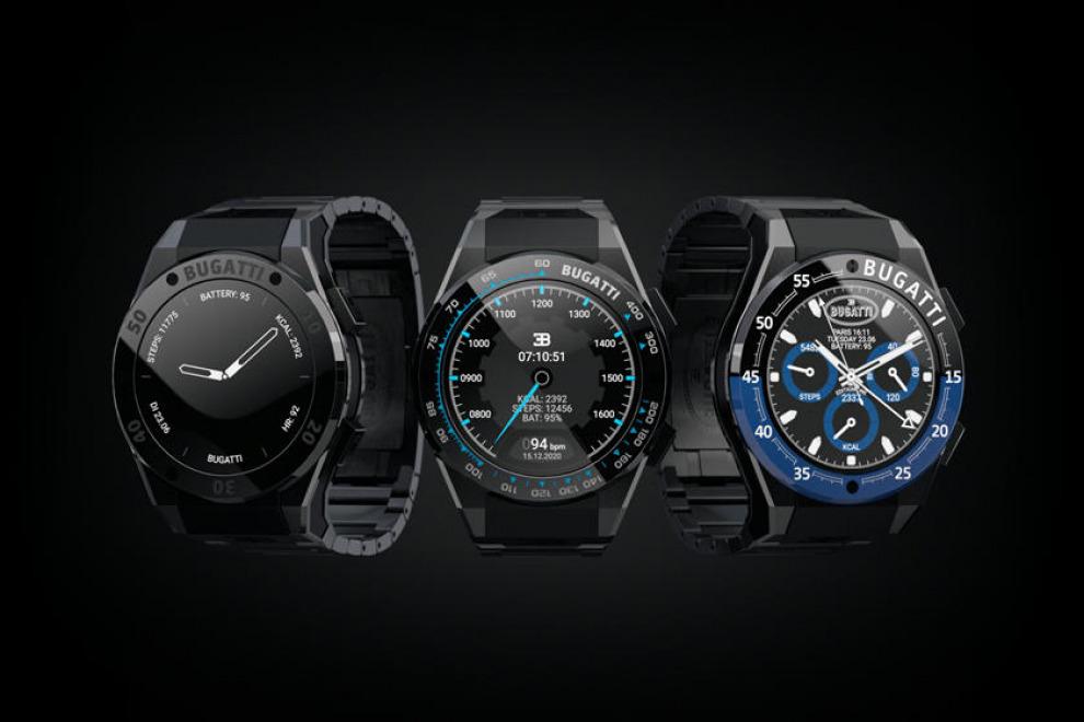 Новые умные часы Bugatti сложнее, чем ваш автомобиль (видео)