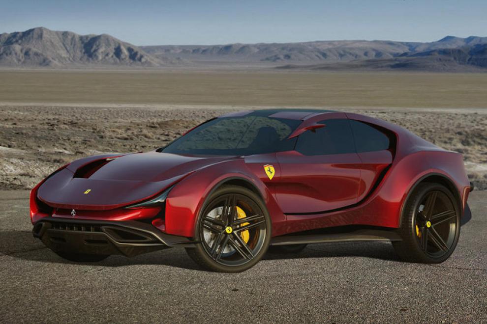 Как будет выглядеть внедорожник от Ferrari?