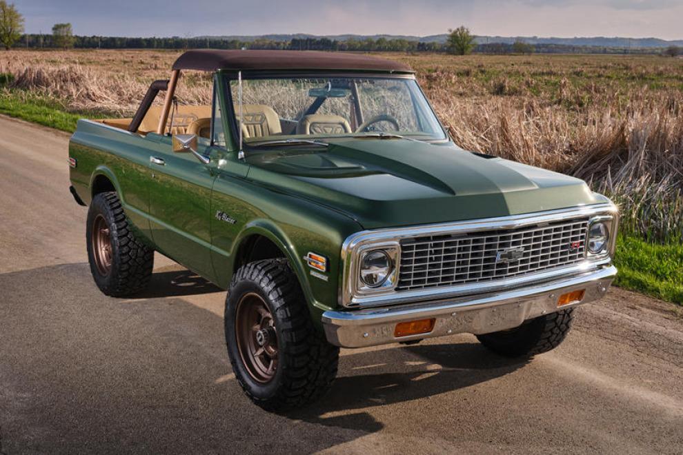 Единственный в своём роде. Chevrolet Blazer 1970 года от Ringbrothers