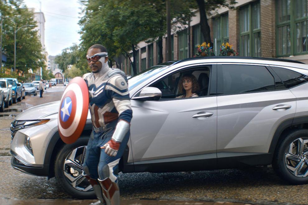 Для продажи нового Tucson, Hyundai использует супергероев Marvel