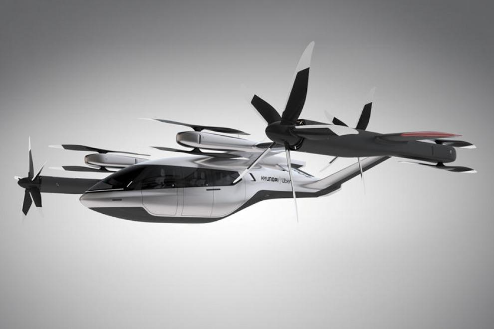 Hyundai обещает, что летающие автомобили появятся уже в 2030-м