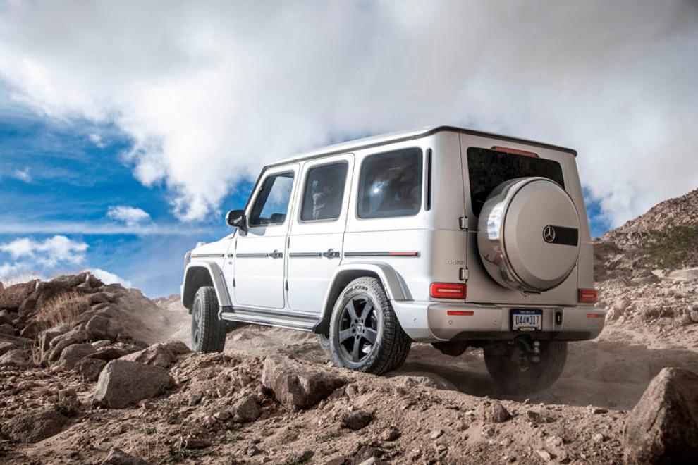 Mercedes привезёт электрический G-Класс в Мюнхен