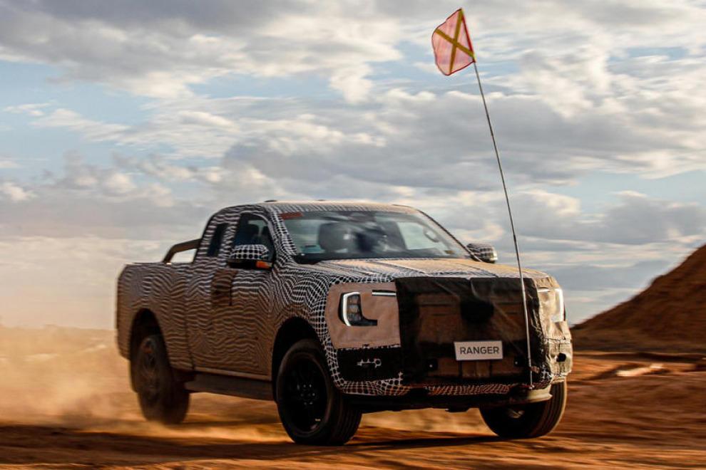 Новый Ford Ranger одновременно станет и новым VW Amarok (видео)